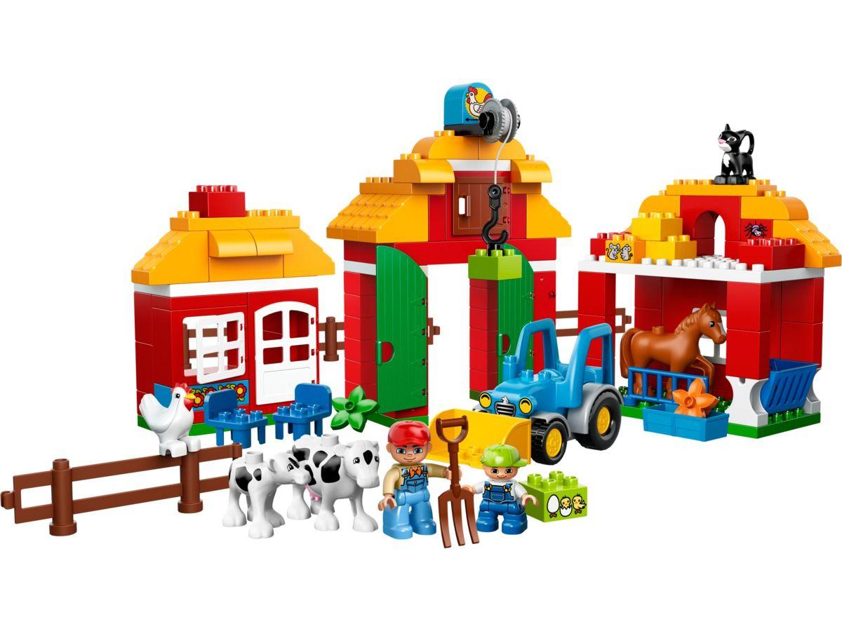 Briques 10525 En Jeux Duplo Ferme Grande La De Lego Construction SMpzVqUG