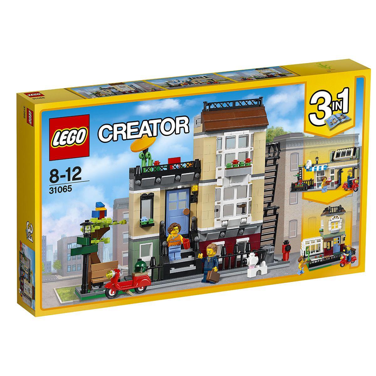 magasin meilleurs vendeurs dessin de mode prix réduit La maison de ville LEGO Creator 3 en 1 31065 - Ville et ...