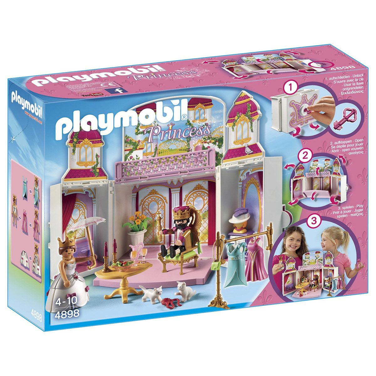 Coffre Cour royale 4898 Playmobil Princess - Princesses et ...