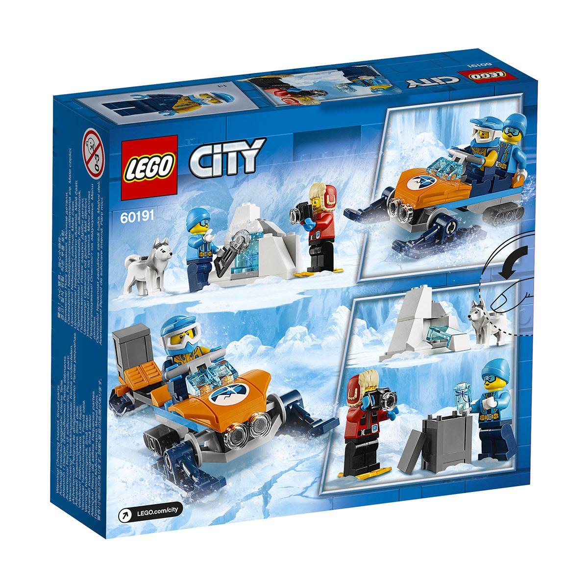 Explorateurs City Et Lego De Sport L'arctique 60191 Aventures La v0wONn8ym