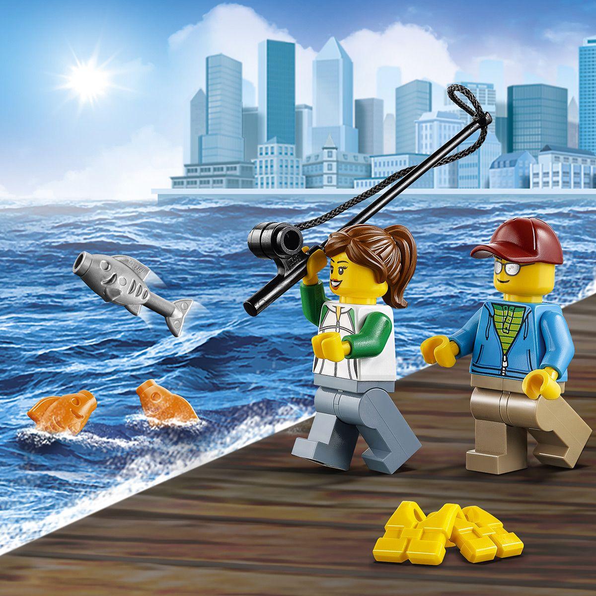 Aventures Lego® Pêche Grande Le Et La City De Sport Bateau 60147 ZPOXNwk8n0