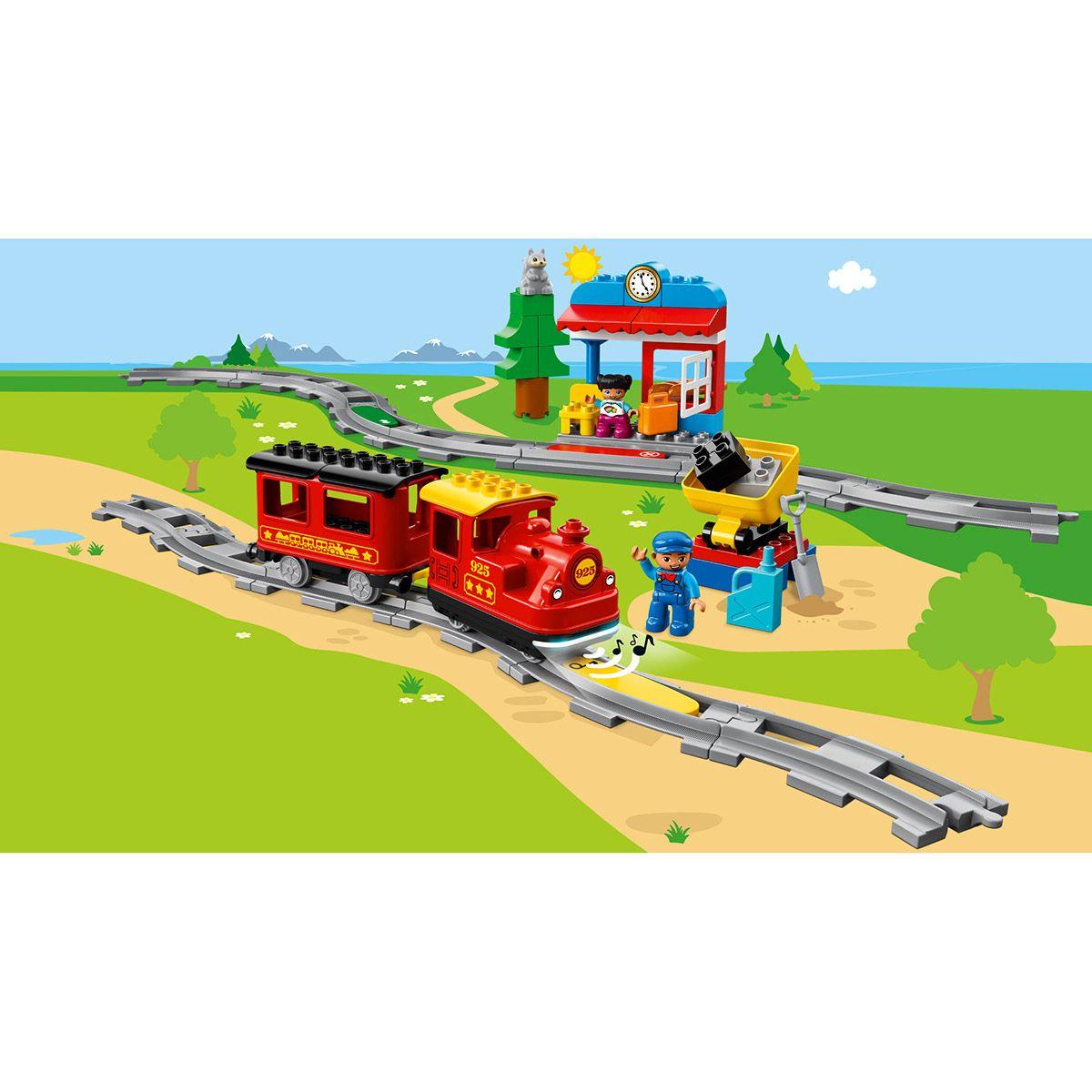 10874 Construction De Le Train Lego Duplo La À Jeux Vapeur oCWxrdeQB