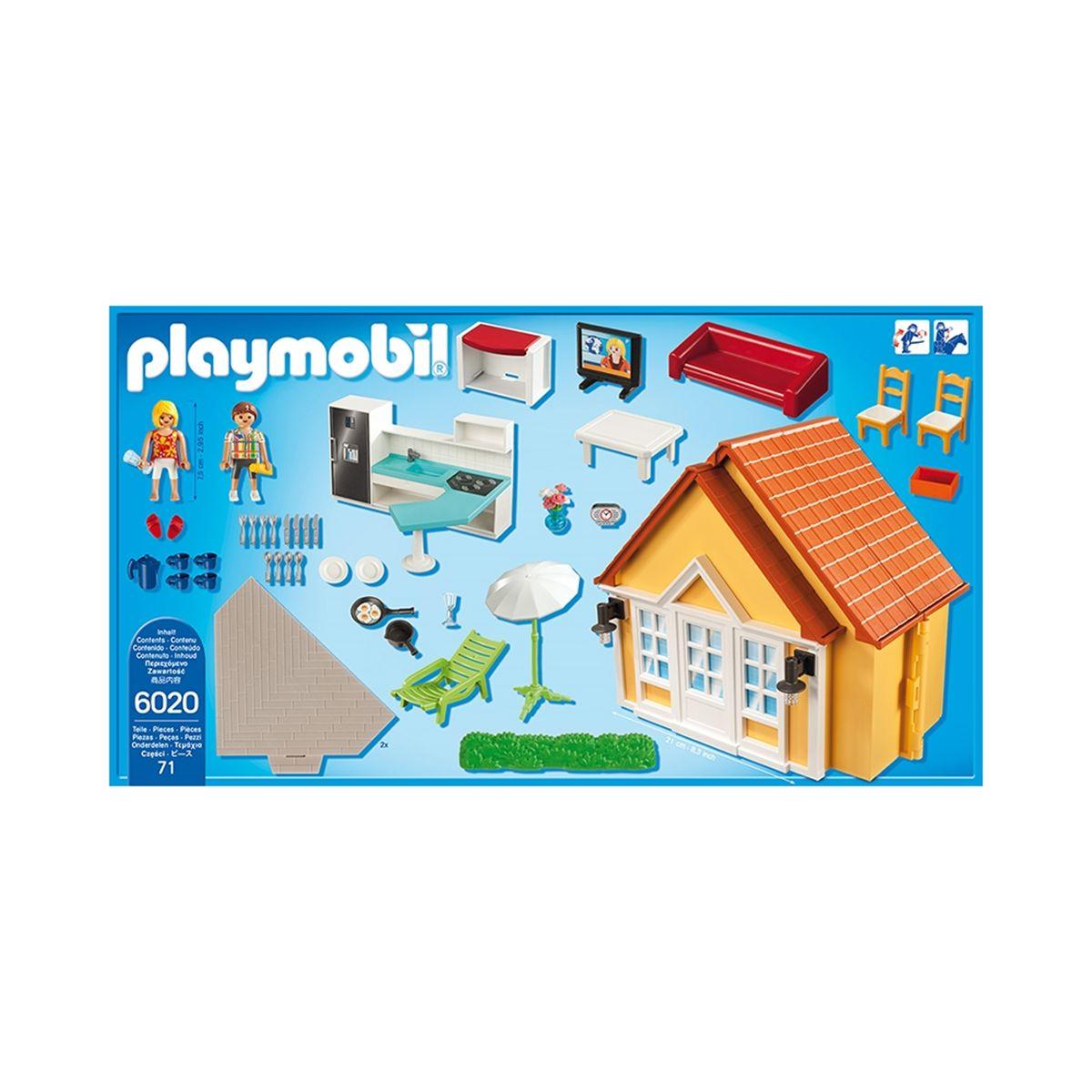 Playmobil Plan De Montage Maison Vacances | Ventana Blog
