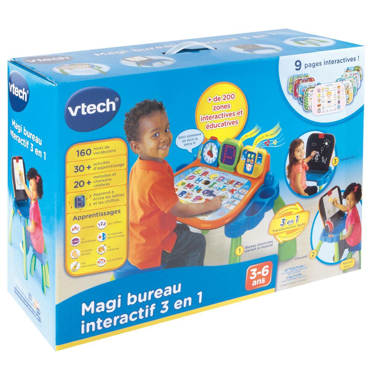 Magi Bureau Interactif 3 En 1 Jeux Educatifs Electroniques