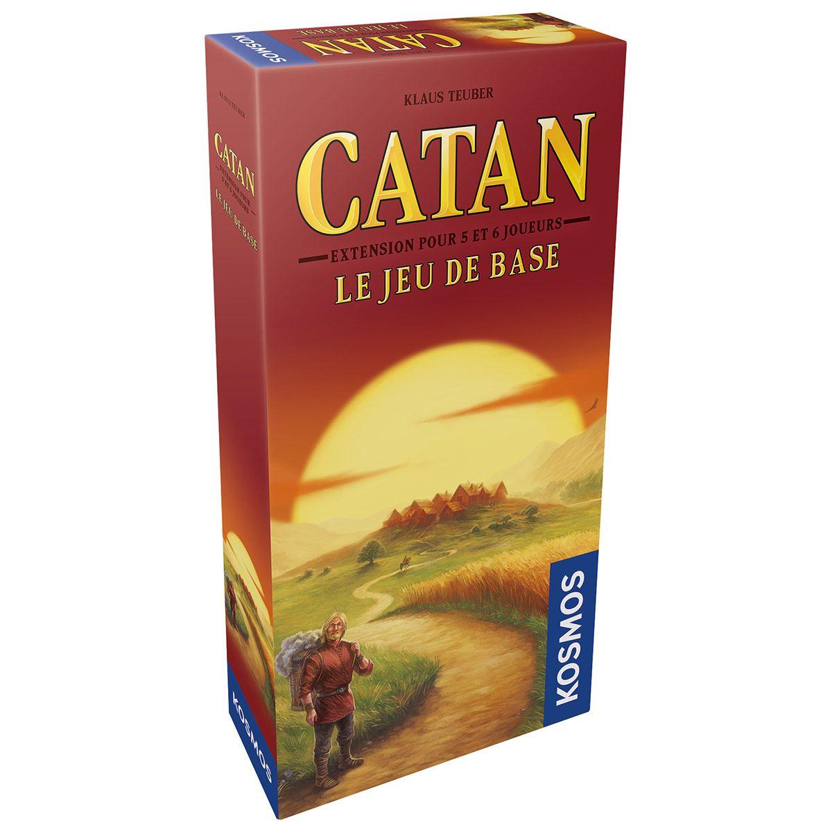Catan - Extension 5/6 joueurs