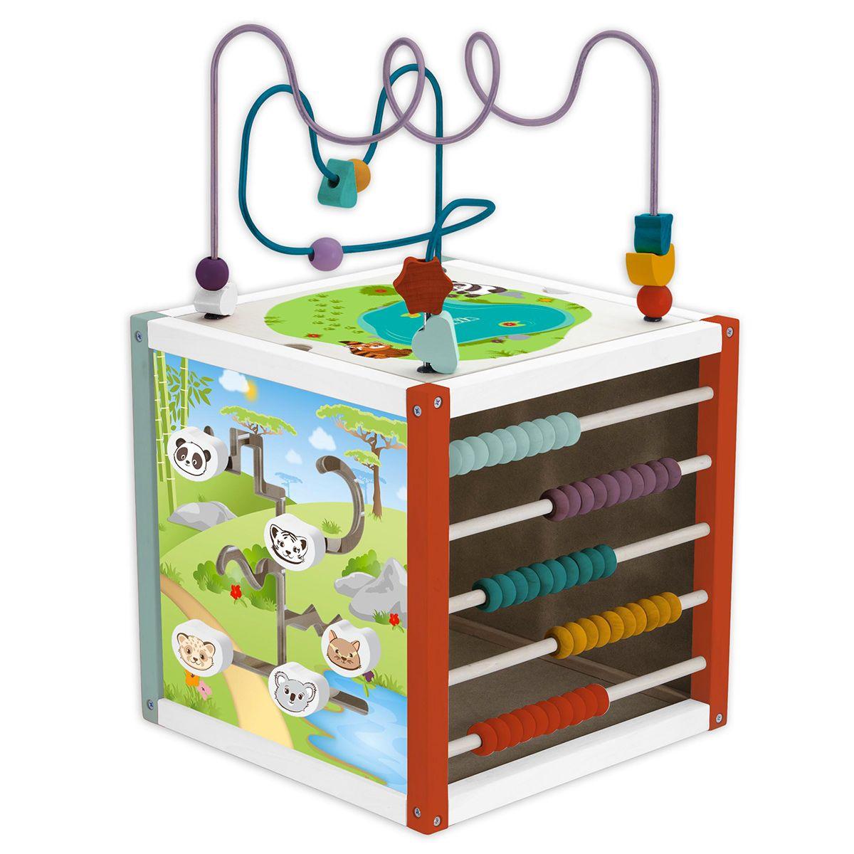 detailing super specials exclusive range Grand cube multi-activités en bois - Jouets d'éveil et ...