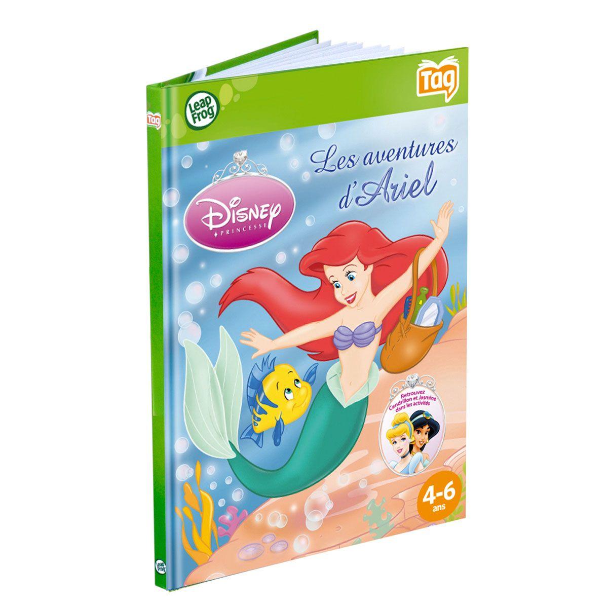 Livre Les Aventures Des Princesses Disney Pour Lecteur Leap
