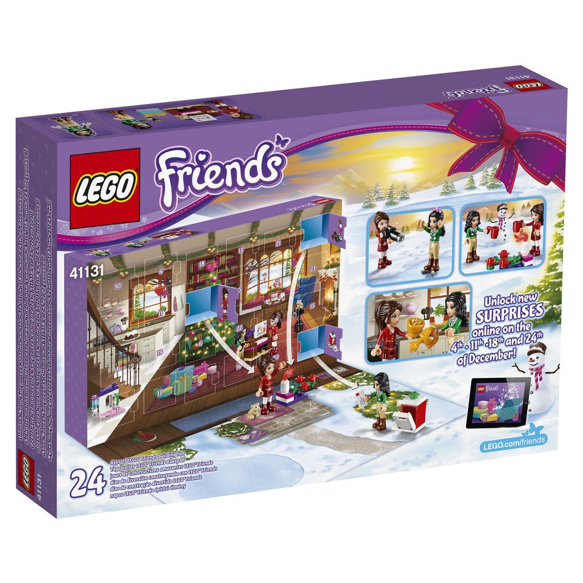 Lego Friends Calendrier De L Avent.Lego Friends 41131 Calendrier De L Avent Ville Et