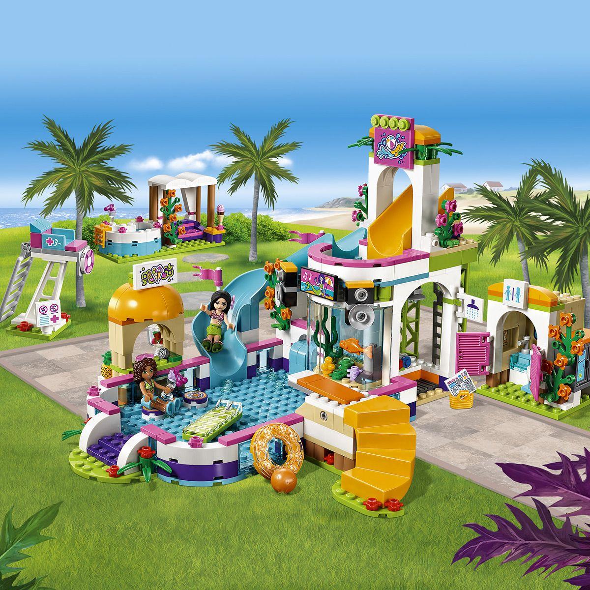 Piscine Univers 41313 Ville La Lego® D'heartlake Friends City Et 5R3LAj4q