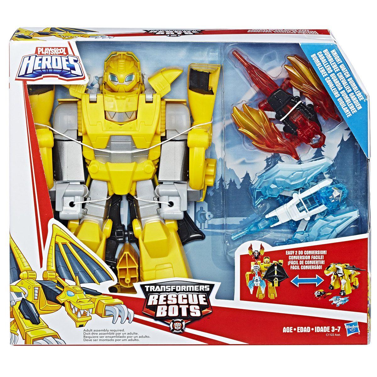 Bumblebee Rescue Transformers Gardien Chevalier Bots Les Monstres bv6yYgIf7