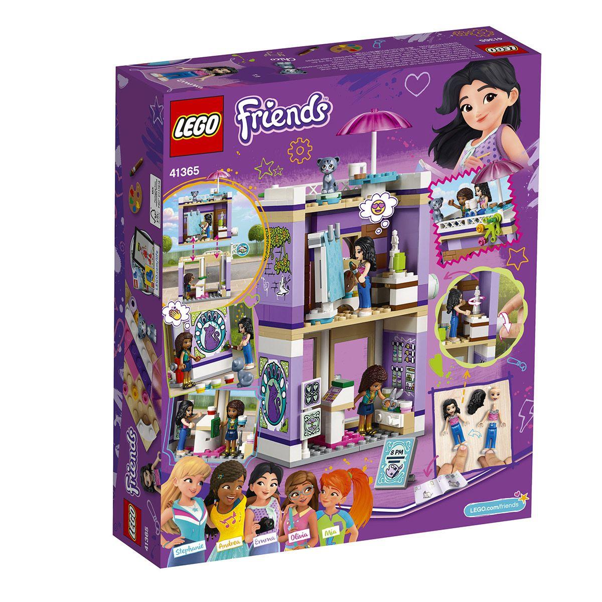 Univers D'artiste Friends L'atelier Lego D'emma 41365 Ville Et Tl1JcFK3
