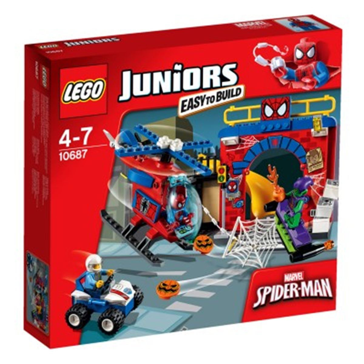 De Spider Cachette Man Juniors Super HérosCinéma 10687 La Lego 8nkwOP0