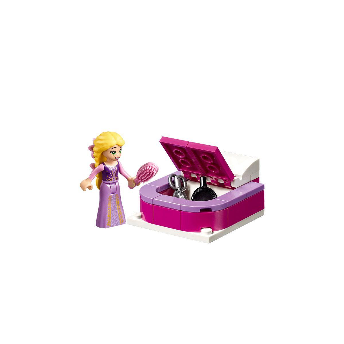 La chambre du château Raiponce LEGO Disney Princesse 41156 ...