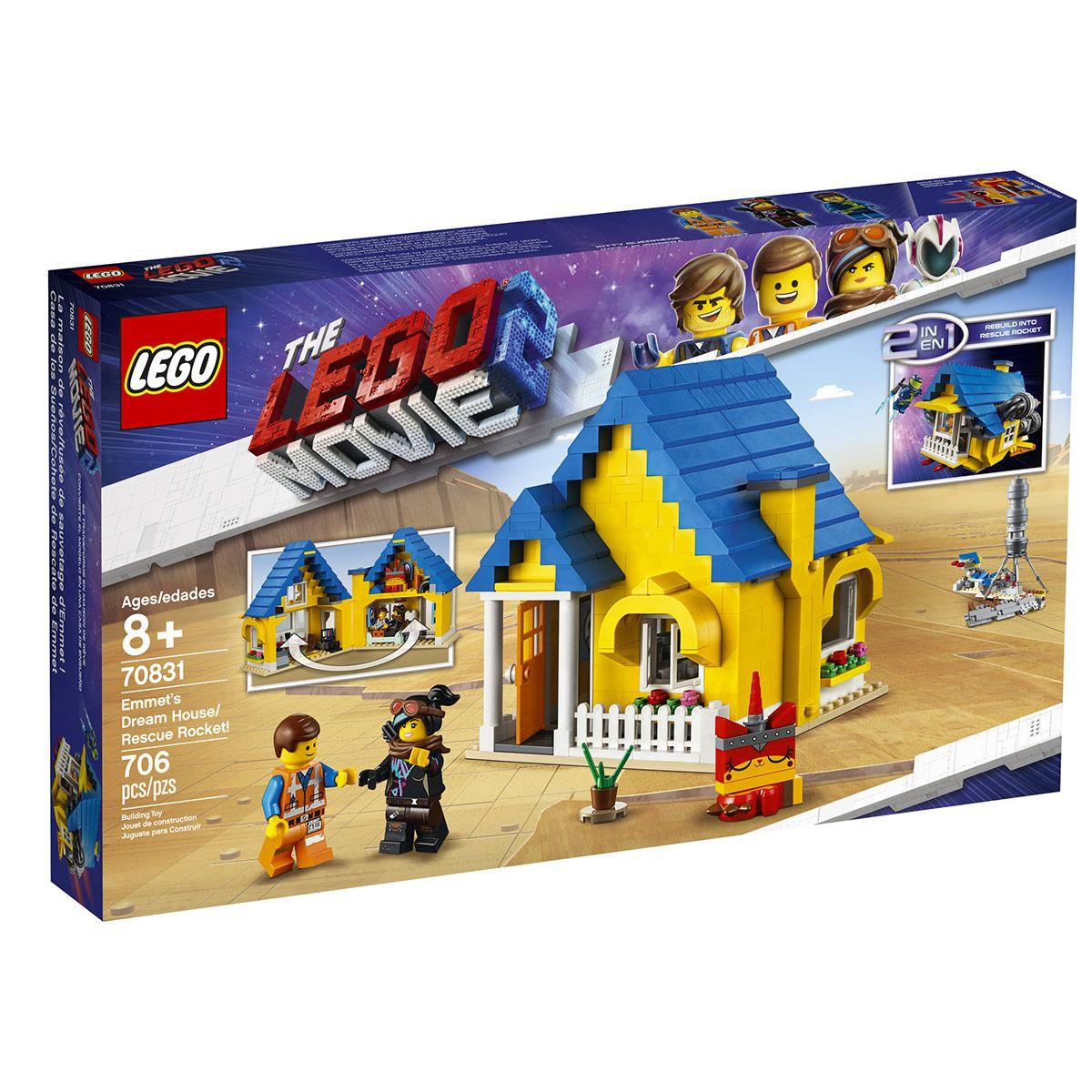 D'emmetThe La Lego 70831 HérosCinéma Super Maison Fusée Movie tQhxsrdC