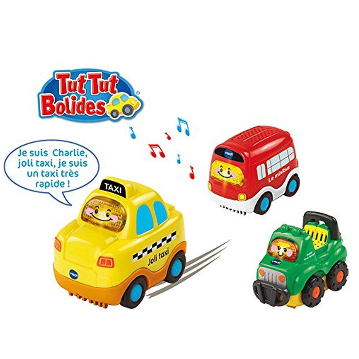 4x4 Bolides Coffret City TaxiBus Tut Et Véhicules Trio rCBoWdxEQe