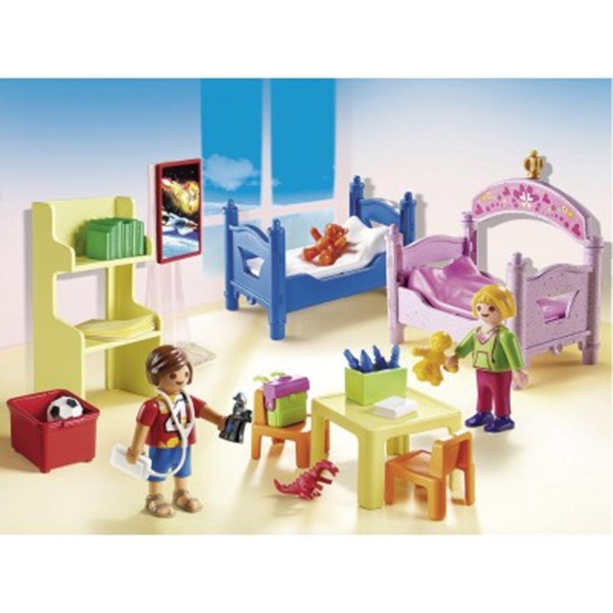 D'enfants 5306 Chambre Dollhouse Lits Playmobil Avec Superposés OilXZukwPT