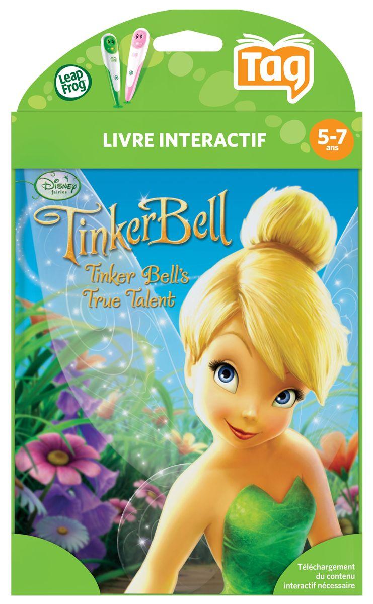 Livre Interactif Lecteur Leap Disney Fairies La Fee