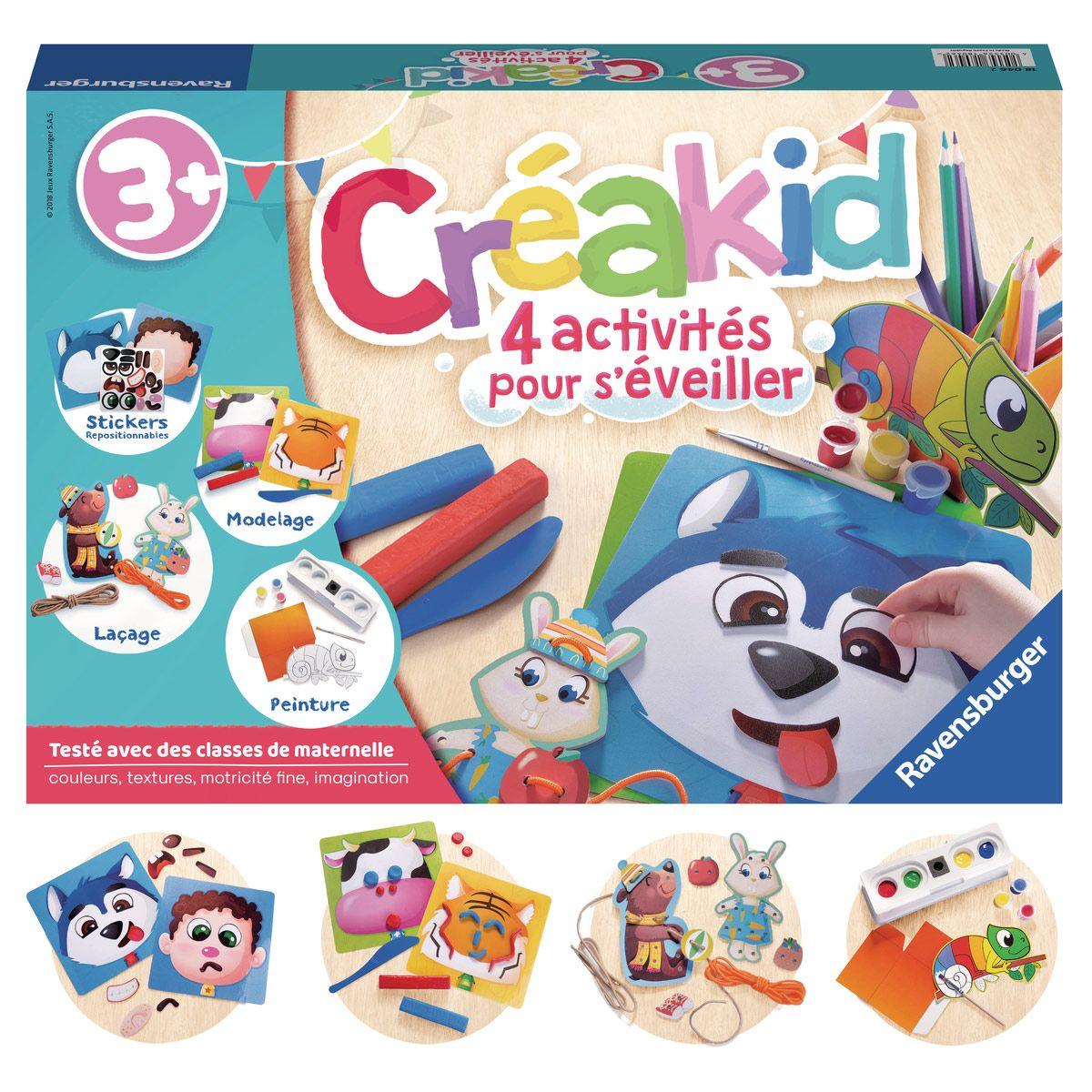 Creakid Kit Multi Activites Jeux Creatifs La Grande Recre