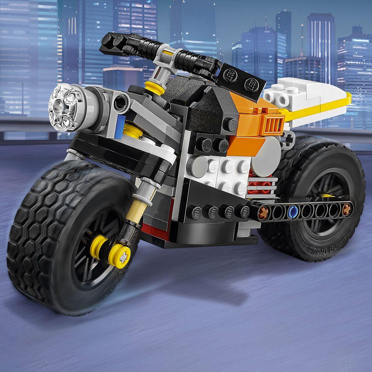 La moto orange LEGO® Creator 31059 - Sport