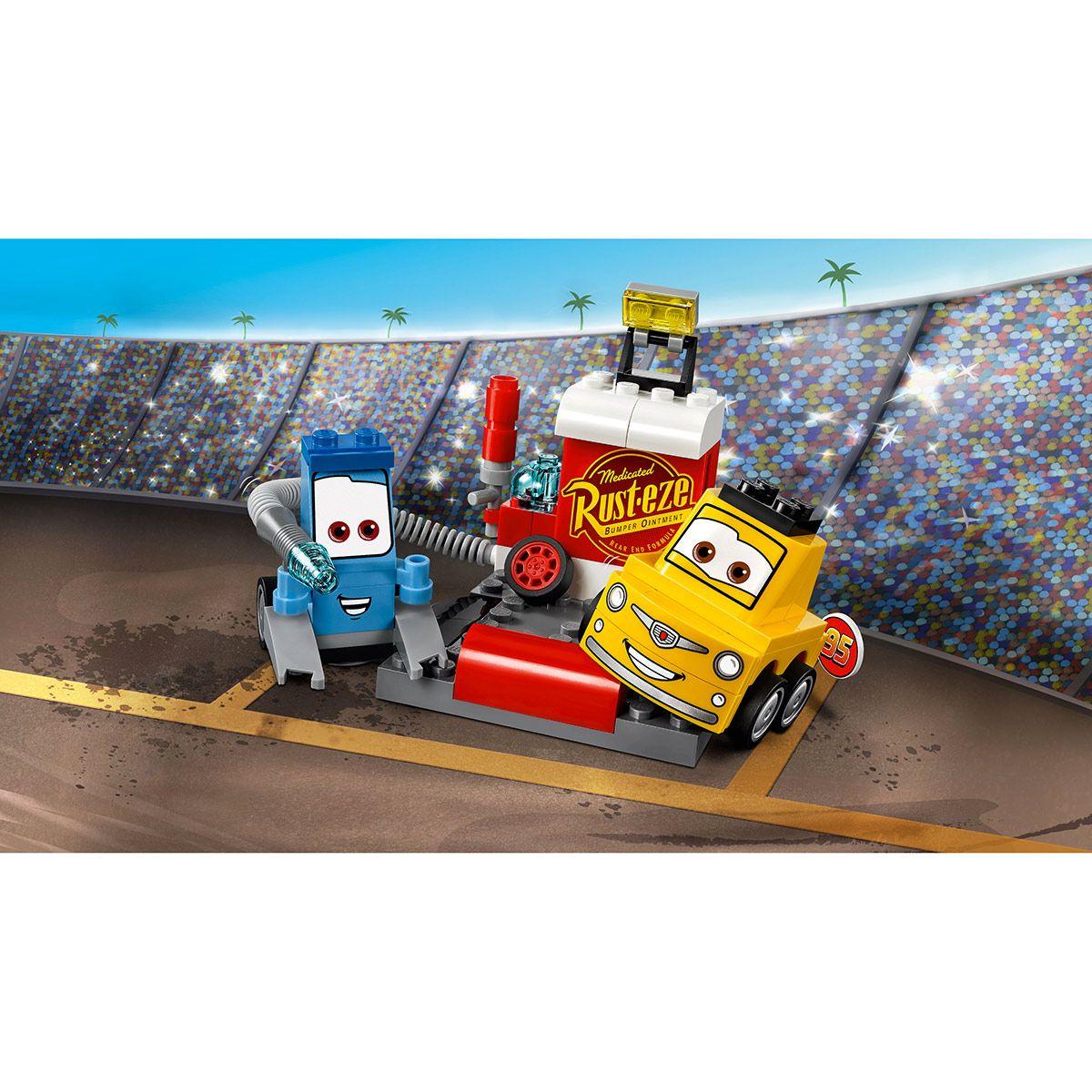 Stand De Au Et Super Cars Lego 3 L'arrêt 10732 Juniors Luigi Guido hdCtsrQ