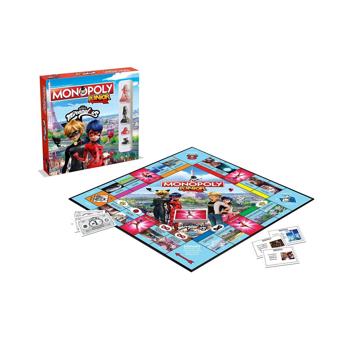Classiques Junior Monopoly Grands La Récré Miraculous Grande ywPvmnN80O
