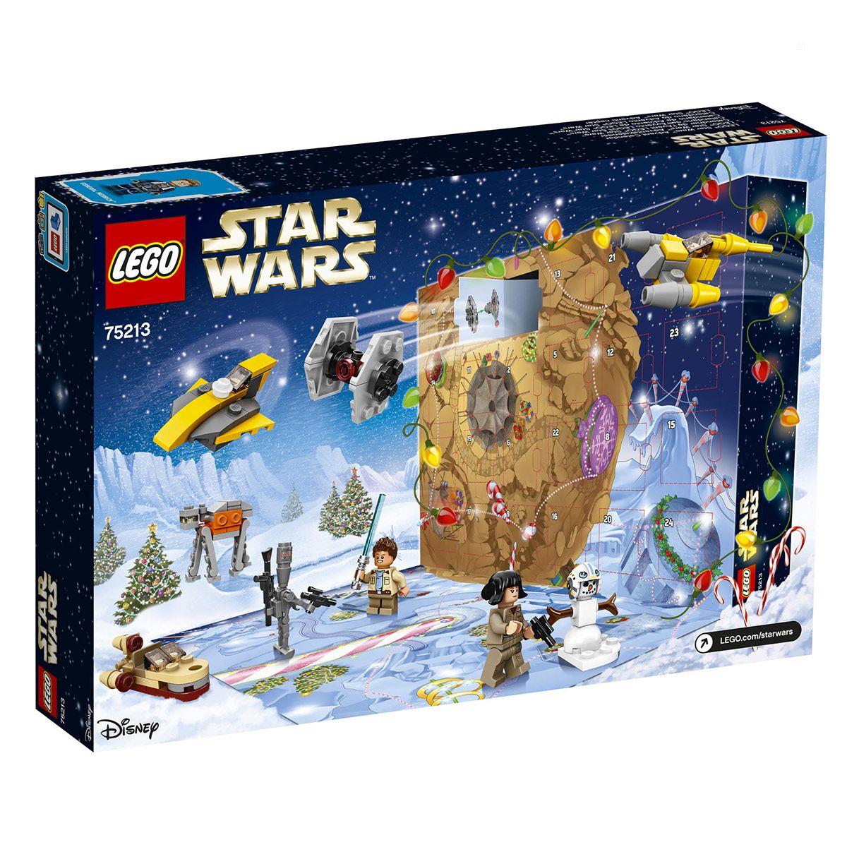 Lego Calendrier.Calendrier De L Avent Lego Star Wars 75213 Jeux De