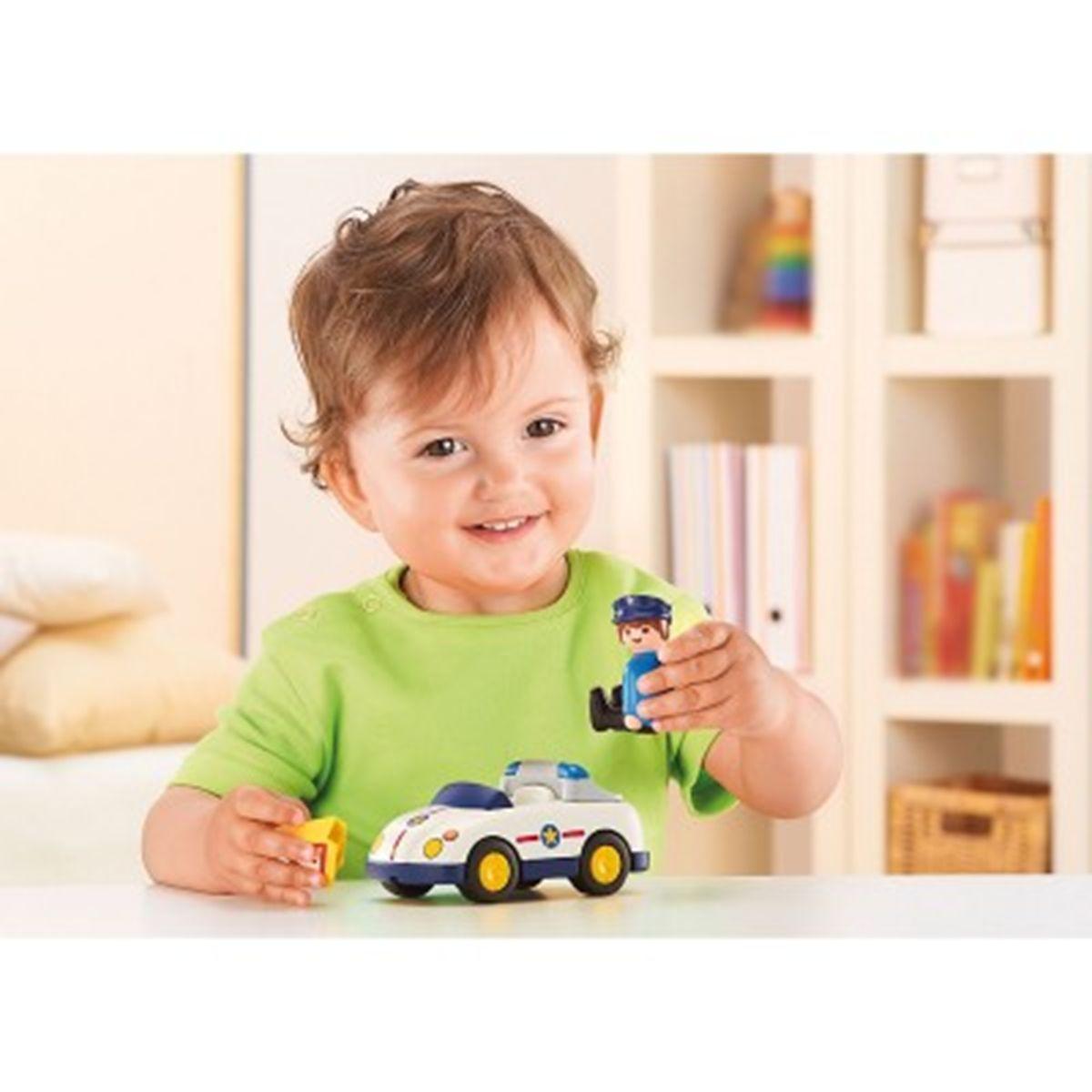 Playmobil Et Figurines Voiture 6797 Véhicules Policier La kiXuPZ