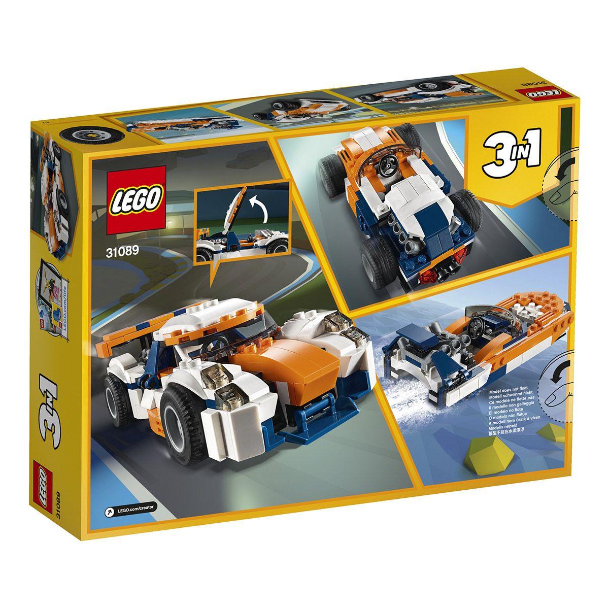 De Et Sport Course Voiture Lego 31089 Creator Aventures La BrohQdCtsx