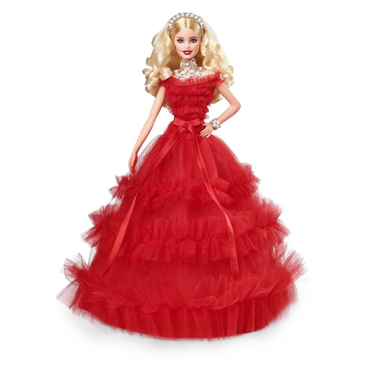 Barbie Noel 2018 Barbie de Noël 2018   30ème anniversaire   Poupons et poupées   La