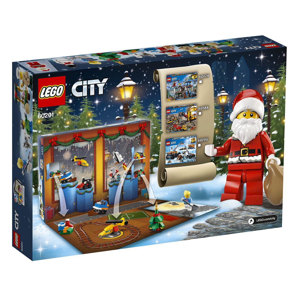 Lego Calendrier.Calendrier De L Avent Lego City 60201 Jeux De Construction