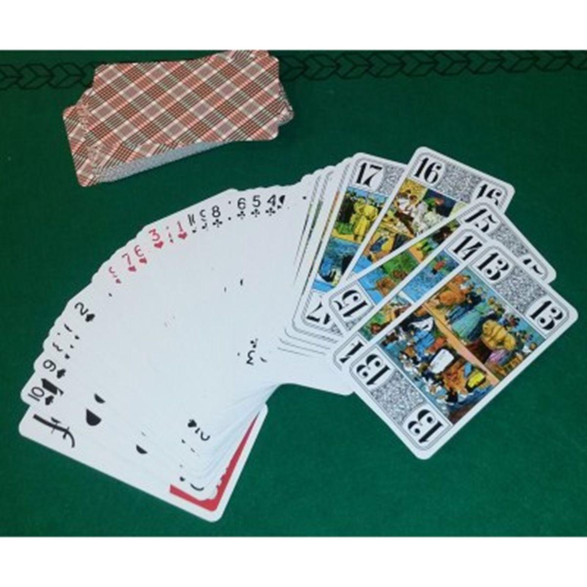 Jeu De Tarot 78 Cartes Jeux De Societe Et Puzzles La Grande Recre