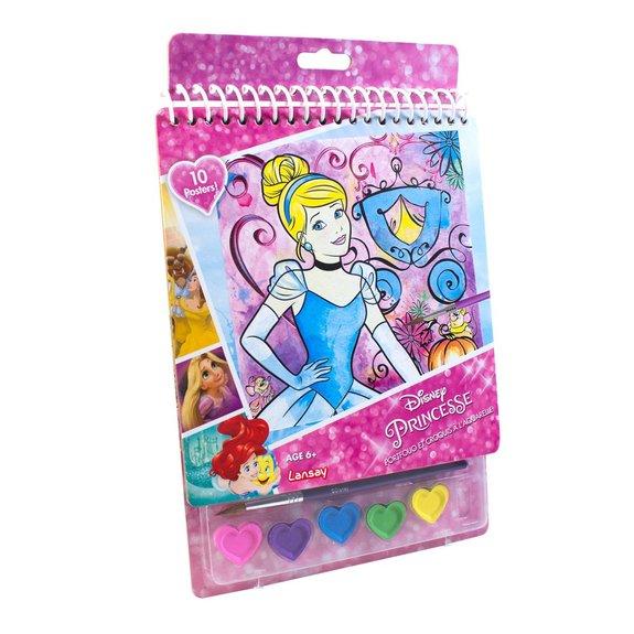 Portfolio et croquis à l'aquarelle Disney Princesses