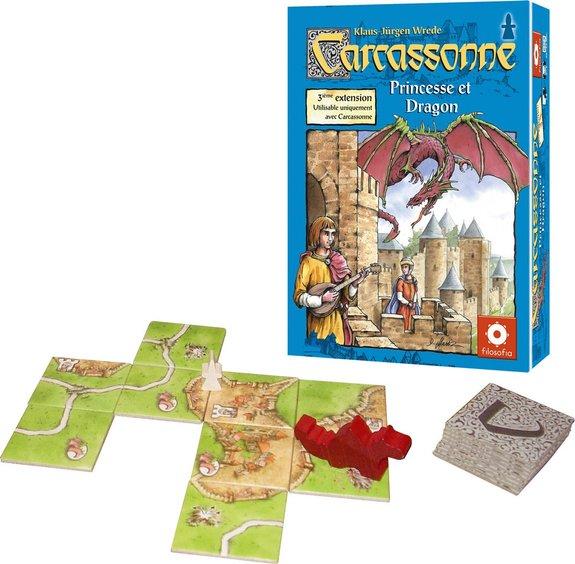 Carcasonne Extension 3 Princesse et Dragon