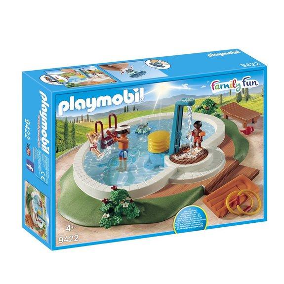 Piscine avec douche Playmobil Family Fun 9422