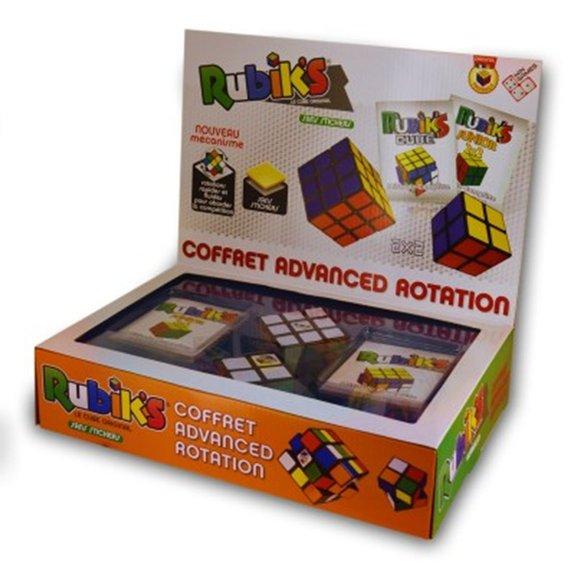 Rubik's cube coffret advanced rotation 3x3 et 2x2