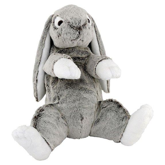 Peluche Soft Friends : Lapin assis 35 cm