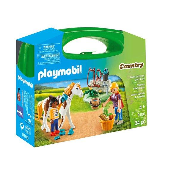 Valisette palefrenières Playmobil Country 9100