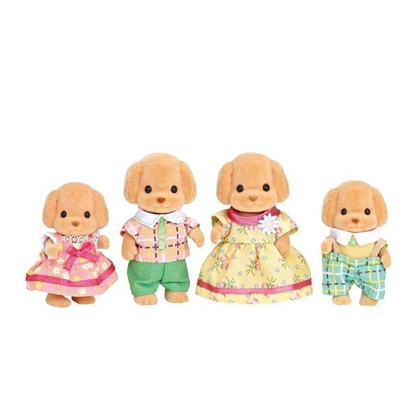 La famille caniche - Sylvanian Family 5215