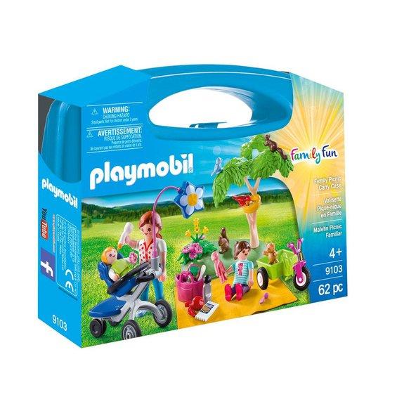 Valisette pique-nique en famille Playmobil Family Fun 9103