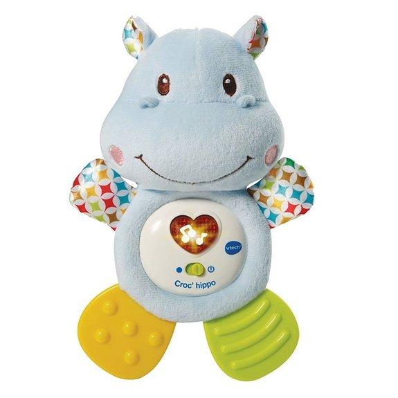 Peluche interactive Croc'hippo