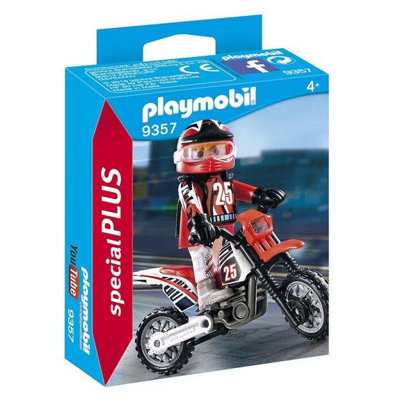 Pilote de motocross Playmobil Special Plus 9357