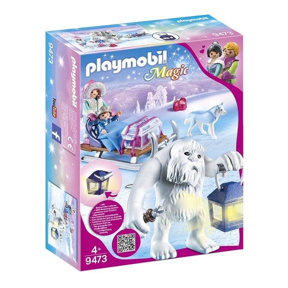 Yéti avec traineau Playmobil Magic 9473