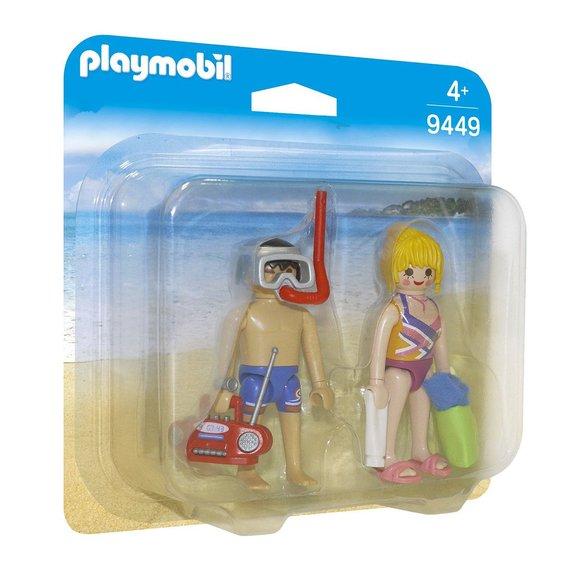 Couple de vacanciers Playmobil 9449