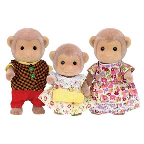 Sylvanian Family 5214 : La famille singe