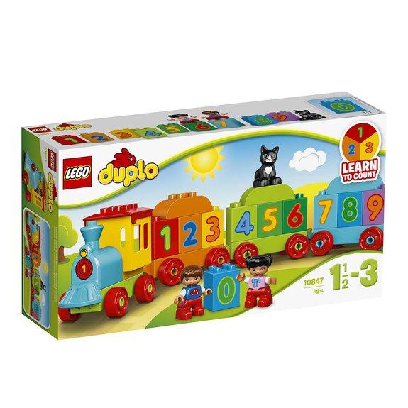 Le train des chiffres LEGO DUPLO 10847