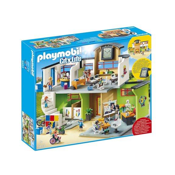 Ecole aménagée Playmobil City Life 9453