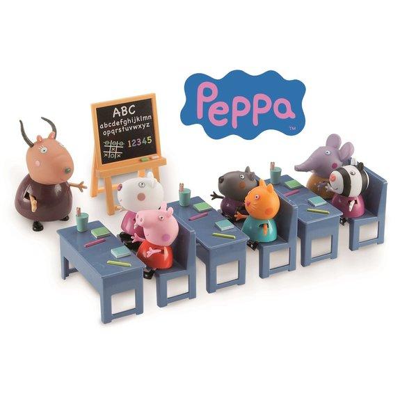 La salle de classe de Peppa pig
