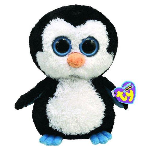 Peluche Beanie Boos 23 cm Waddles le pingouin