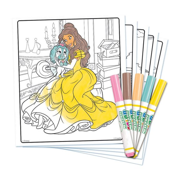 Color Wonder Princesses