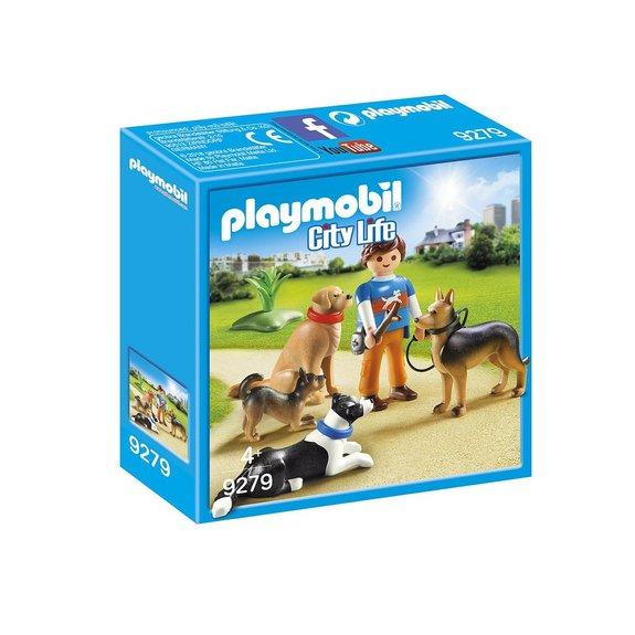 Entraineur et chiens Playmobil City Life 9279